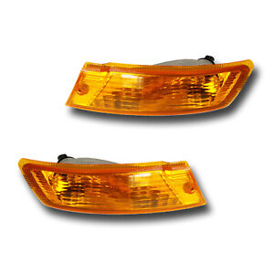 Fits 05 07 Jeep Liberty Left Right Turn Signal Parking Light Assembly 1 Pair