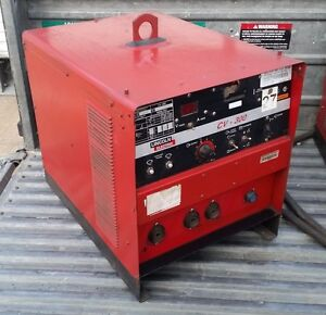 Lincoln Electric Idealarc Cv 300 Mig Welder