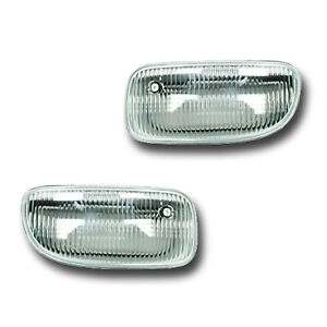 Fits 99 03 Jeep Grand Cherokee Driver Passenger Fog Light Lamp Assembly 1 Pair