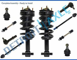 2007 2014 Chevy Tahoe Gmc Yukon Front Strut Lower Ball Joint Sway Bar Tierod Kit