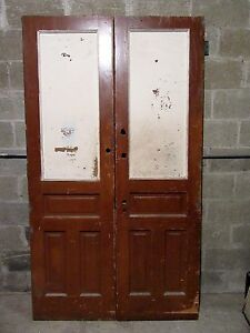 Antique Double Entrance French Doors 47 X 83 Architectural Salvage