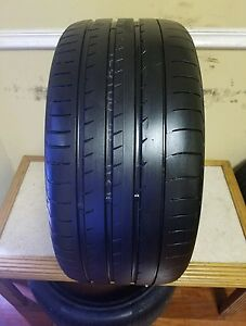 One Used 295 35 21 Yokohama Advan Sport N 2 107v