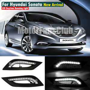 For Hyundai Sonata I45 Led Daytime Running Light Fog Lamp 2011 2012 2013 2014
