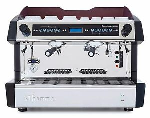 Fiamma Compass Dual Boiler Commercial 2 Group Espresso Cappuccino Machine