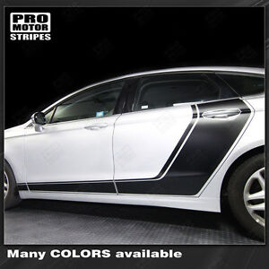 Ford Fusion 2013 2016 Door Accent Side Stripes Decals Choose Color