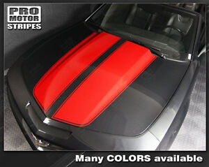 Chevrolet Camaro 2010 2015 Convertible Rally Racing Stripes Decals choose Color