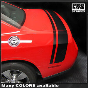 Dodge Challenger 2008 2019 Scat Pack Style Rear Stripes Decals choose Color