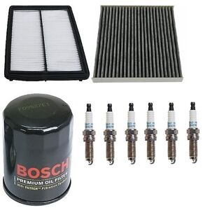 For Honda Accord 08 10 3 5 Kit Opparts Air Mann Cabin Air Filters Denso Plugs
