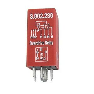 For Volvo 245 240 244 740 745 760 1985 1993 Overdrive Relay K a e 1347768