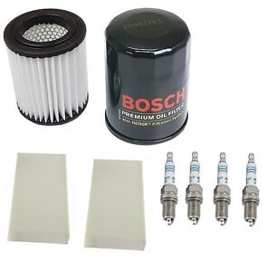For Honda Cr v 03 06 2 4 Kit Micro Air Denso Cabin Air Bosch Oil Filters Plugs