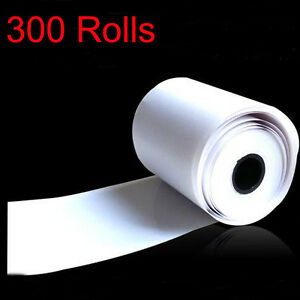 300x Thermal Paper Cash Register Receipt Roll For Mobile 58mm 30mm Mini Printer