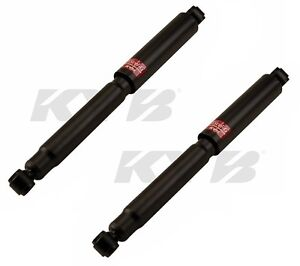 For Toyota Mark Ii 75 76 Set Of 2 Rear Shock Absorbers Kyb Excel g 344044