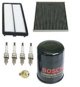 For Honda Civic 06 10 Si Kit Opparts Air Filter Bosch Oil Plugs Oil Drain Plug