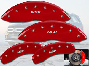 2008 2011 Mercedes Benz Ml550 Front Rear Red Mgp Brake Disc Caliper Covers
