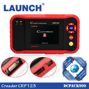 Launch Creader Crp123 Obd2 Diagnostic Scanner Code Reader Transmission Abs Engin