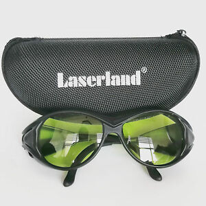 190 450nm 800 1100nm Od4 Blue Ir Laser Protective Goggles Safety Glasses Ce