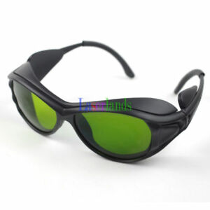 190 450nm 800 1700nm Od4 Blue ir Laser Protective Goggles Safety Glasses Ce