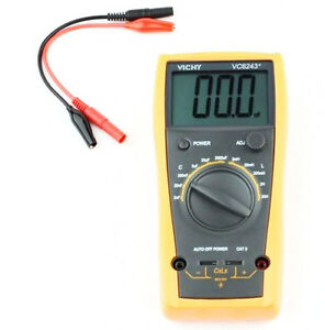 New High Precision Vc6243 Digital Lc Meter Inductance Capacitance 2000uf 20h