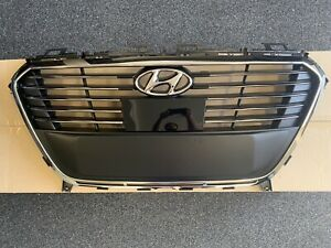 2016 2017 Sonata Hybrid Plug In Limited Front Bumper Grille W Adaptive Cruise