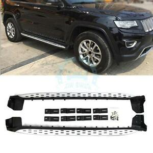 Stainless Steel Side Step Bar Running Board For Jeep Grand Cherokee 2011 2016