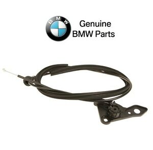 For Bmw E36 3 series Driver Left Hood Release Cable Oes Genuine 51 23 1 960 853