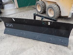 84 7 Ft Snow Plow Skidsteer Attachment Fits Most Power Angle Usa Made