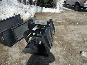 66 Grapple Bucket Quick Attach Bobcat Attachment Hyd Made In Usa