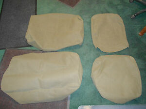 Seat Cover Kit Canvas Military Driver And Pas Side M35a2 M800 M813 M109 Usa Made
