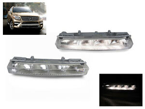 Oe Replacement Led Drl Daytime Light Pair For 2012 14 Mercedes W166 M ml Class
