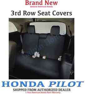 Genuine Oem Honda Pilot 3rd Third Row Seat Cover 2016 2019 08p32 tg7 110d