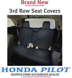 Genuine Oem Honda Pilot 3rd Third Row Seat Cover 2016 2018 08p32 tg7 110d