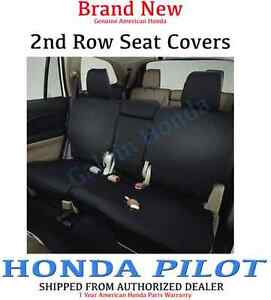 Genuine Oem Honda Pilot 2nd Row Seat Cover For Lx ex Models 2016 2018