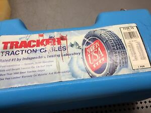 Tracker Traction Cables 1529 10 Tire Chains