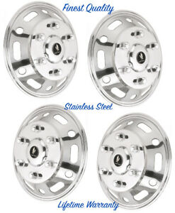 16 Mercedes Sprinter 2500 3500 Single Wheel Simulator Steel Hubcap Covers