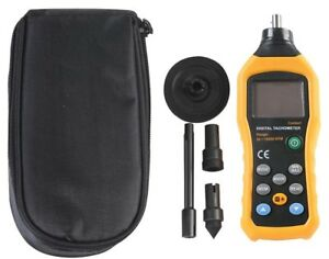 Digital Contact Tachometer Speed Measurement Rotating Objects