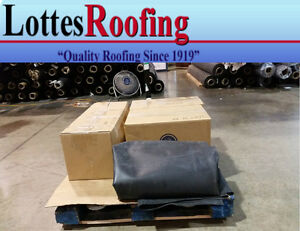 23 X 20 Black 45 Mil Epdm Rubber Roof Roofing By The Lottes Companies