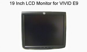 19 Inch Lcd Monitor Ge Vivid E9 Ultrasound System p n 5198551
