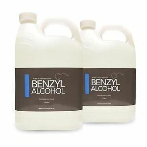 2 Gallons Of Benzyl Alcohol Usp Grade In Bpa Free Plastic Container Fast Ship