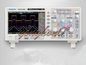 Hantek Dso5102b Digital Oscilloscope 100mhz 1gs Lcd 7 Tft Compared Tek