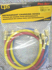 Cps Products 36 Charging Hose Set W anti blow backs