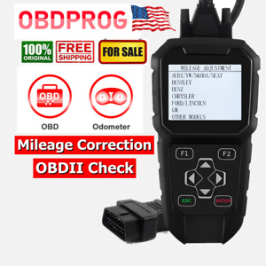 Obdprog Mt401 Odometer Adjustment Mileage Correction Obdii Diagnosti Tool