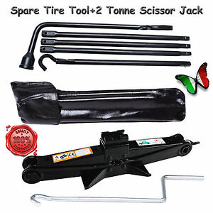 Genuine Spare Tire Lug Wrench Tool Jack Set Oem For Dodge Ram 1500 scissor Jack
