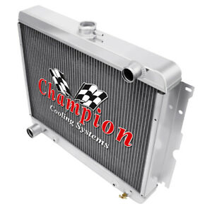 2 Row 1 Tubes Aluminum Kr American Eagle Radiator For 22 Core Mopar Big Block