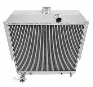 1964 Dodge Dart a Body Mopar All Aluminum 3 Row Core Kr Champion Radiator