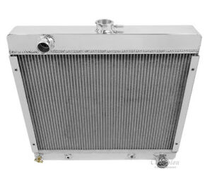 1970 1972 Plymouth Duster All Aluminum 3 Row Core Kr Champion Radiator