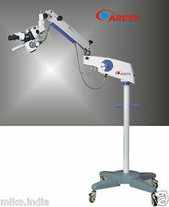 Arete Miko Motorized 5 Step Dental Operating Microscope For Examination Surgery
