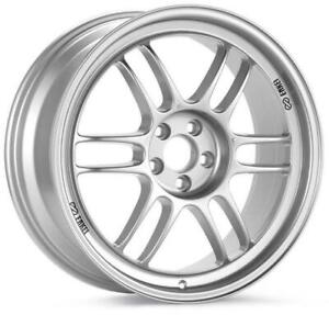 Enkei Rpf1 18x9 5 5x114 3 38mm Offset Silver Wheel 3798956538sp