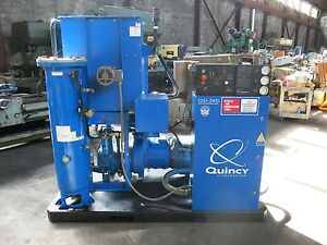 Quincy Qsi 245i 50hp Screw Air Compressor Liquid Cooled Low Hours