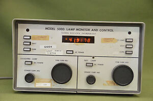 Gamma Scientific Model 5000 Lamp Monitor Control u2