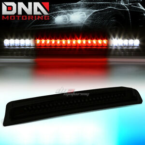 For 04 14 Nissan Titan frontier Smoked Lens Rear Led 3rd Tail Brake stop Light